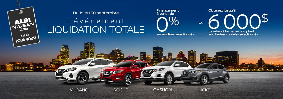 Promotion Nissan