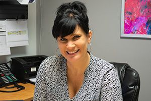 Christine Gagné | Sales secretary and assistant to the financial directors