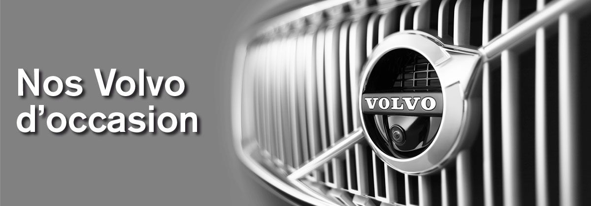 Nos Volvo d'Occasion